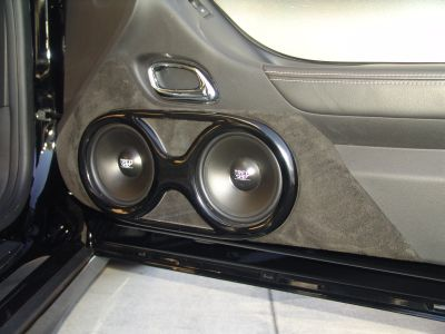 TREO TSX Components with custom suede inserts in the doors