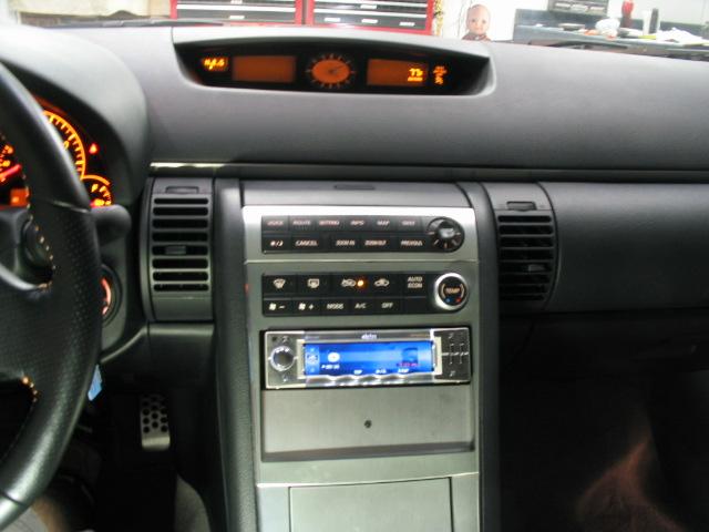 infiniti g35 custom interior. 2005 infiniti g35 coupe custom mounted clarion pro audio source unit with sirius satellite radio interior