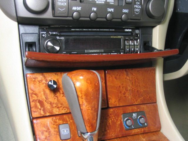 2005 Lexus Ls430 Clarion Pro Audio Source Unit Custom Mounted In The Factory Cd Changer Location