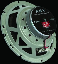 TREO RSX Integrated Speakers